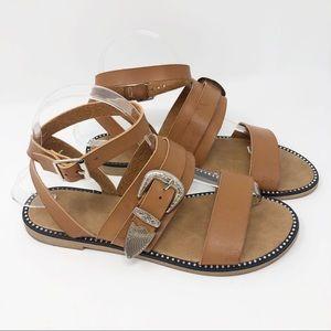 Belt Buckle Sandals